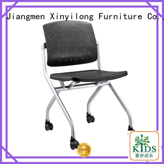 practical training room chair with wheel for lecture