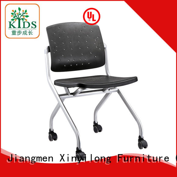 Xinyilong Furniture nesting chair with wheel for lecture