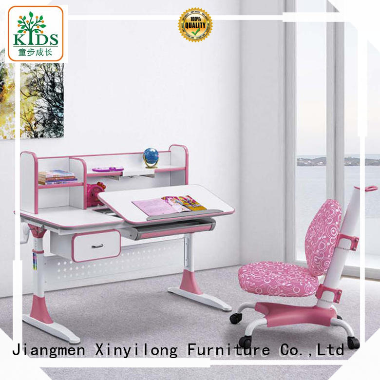 Xinyilong Furniture student desk adjustable height high quality for kids