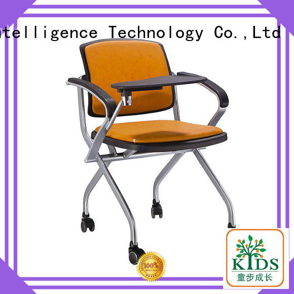 TBCZ plastic dining chairs with wheel for lecture