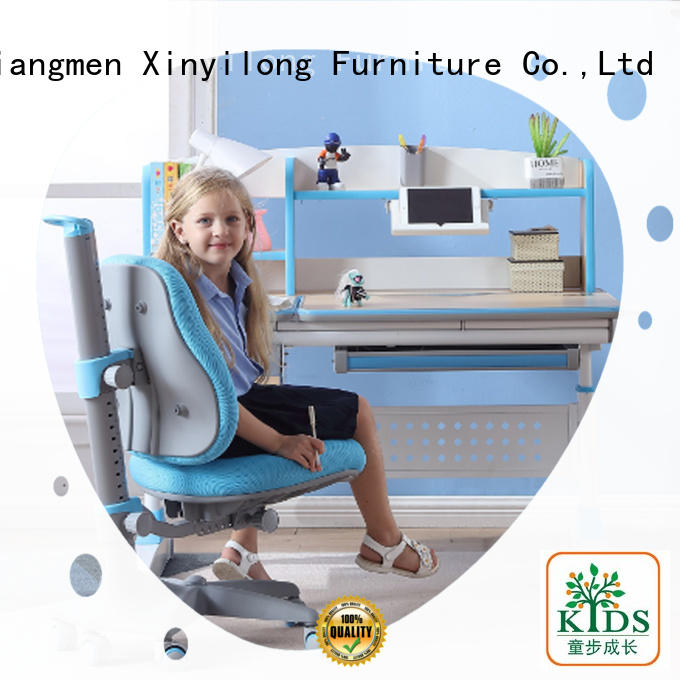 Xinyilong Furniture office table and chair with storage for kids