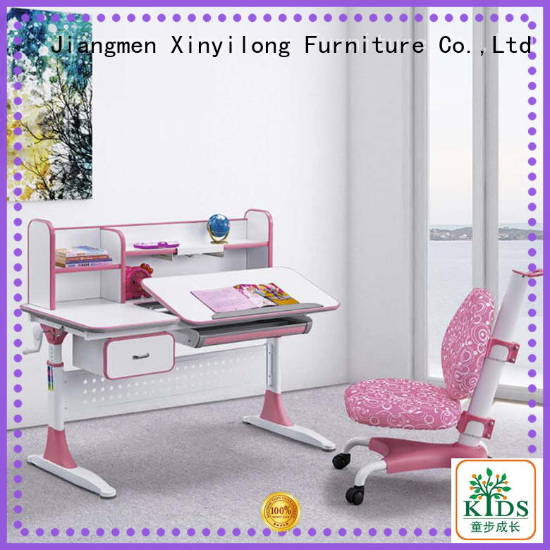 washable study furniture with storage for kids