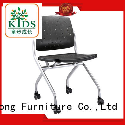 Xinyilong Furniture foldable dinning chair with wheel for college