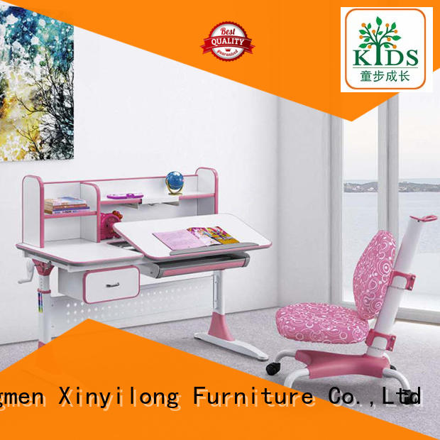Xinyilong Furniture ergonomic children study table for sale for children