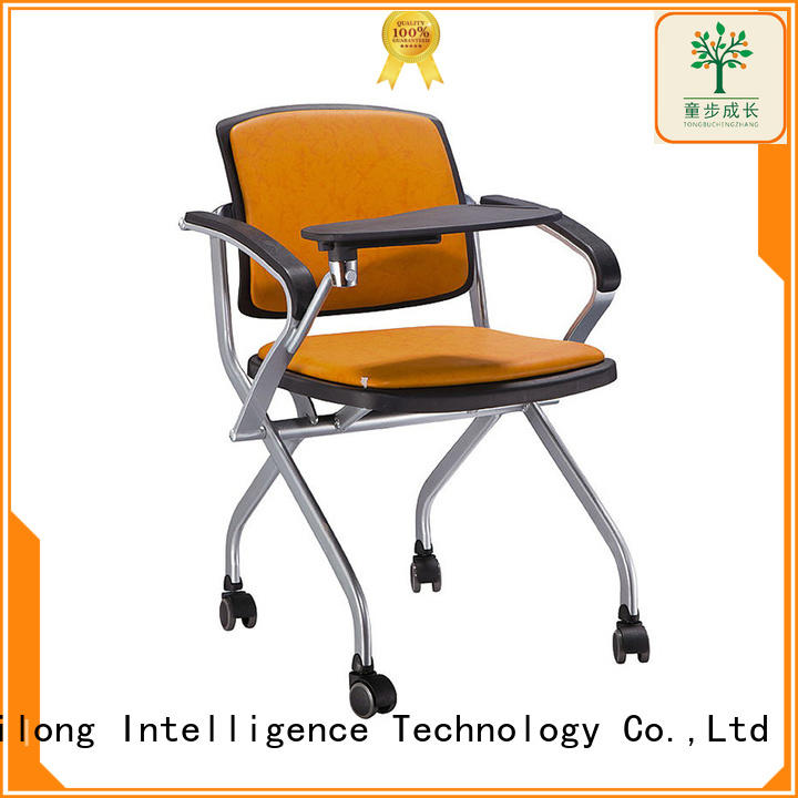 TBCZ foldable plastic dining chairs supplier for college