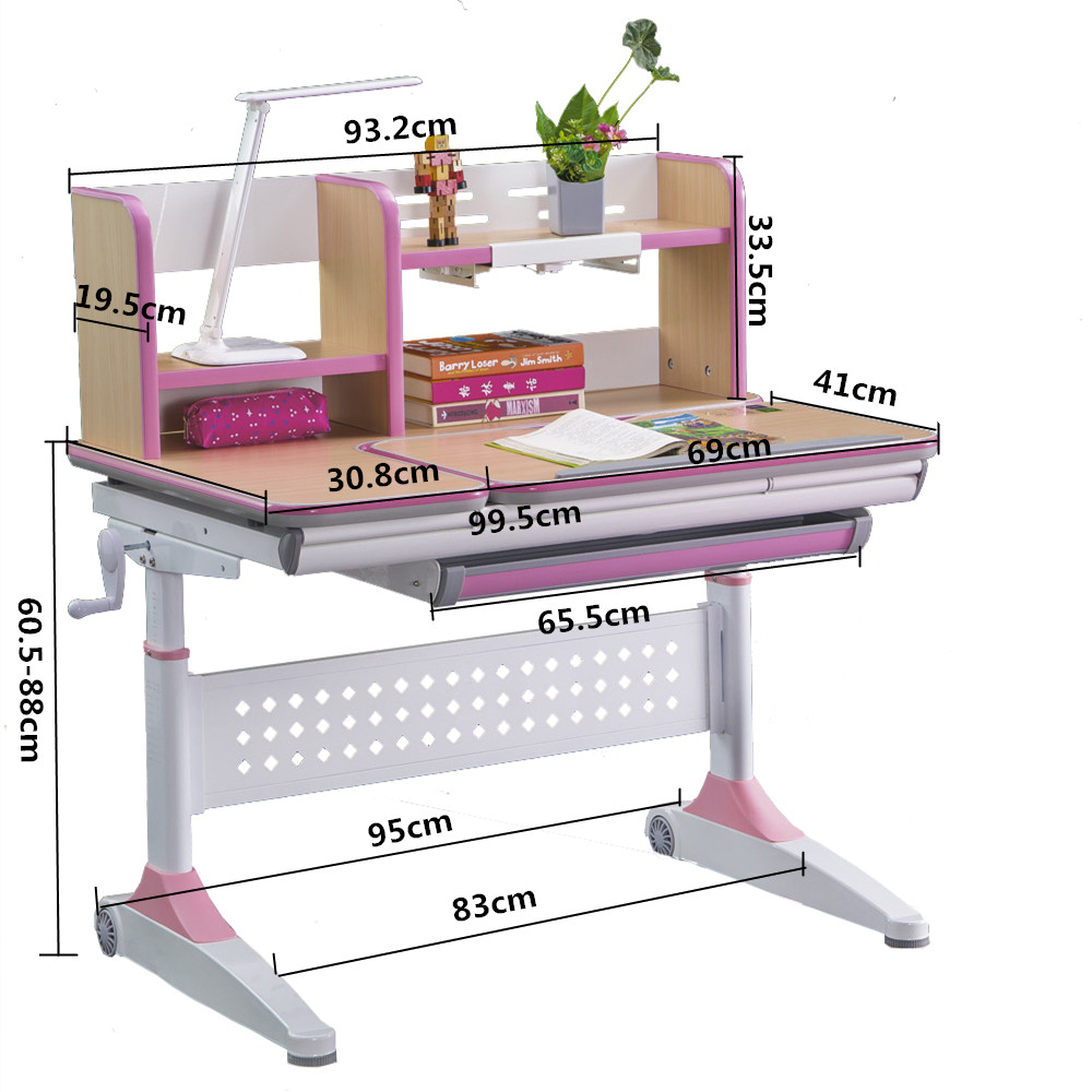 healthy study table design for bedroom high quality for children-5