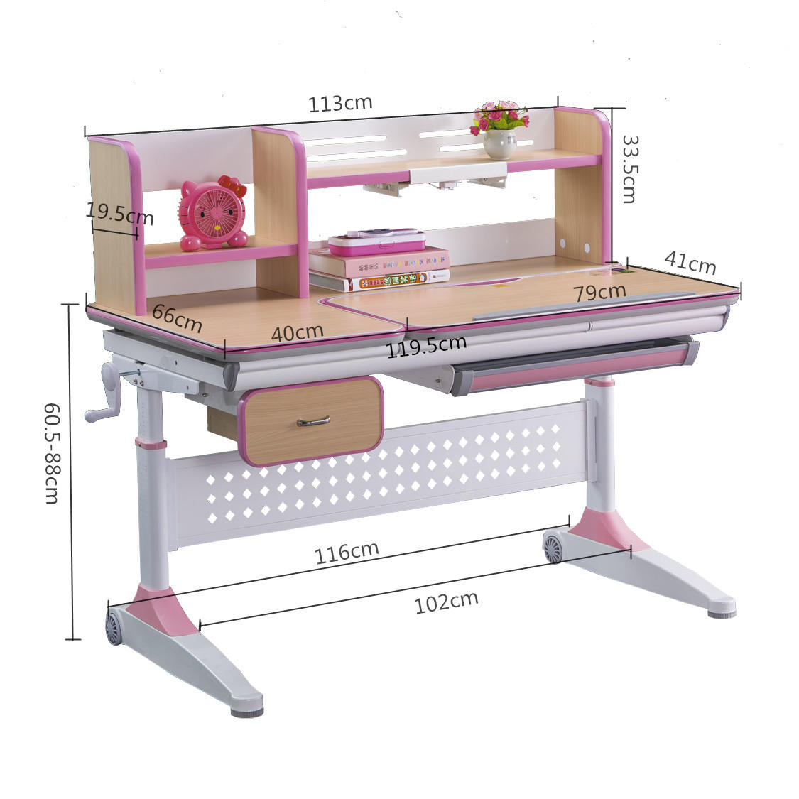healthy study table design for bedroom high quality for children