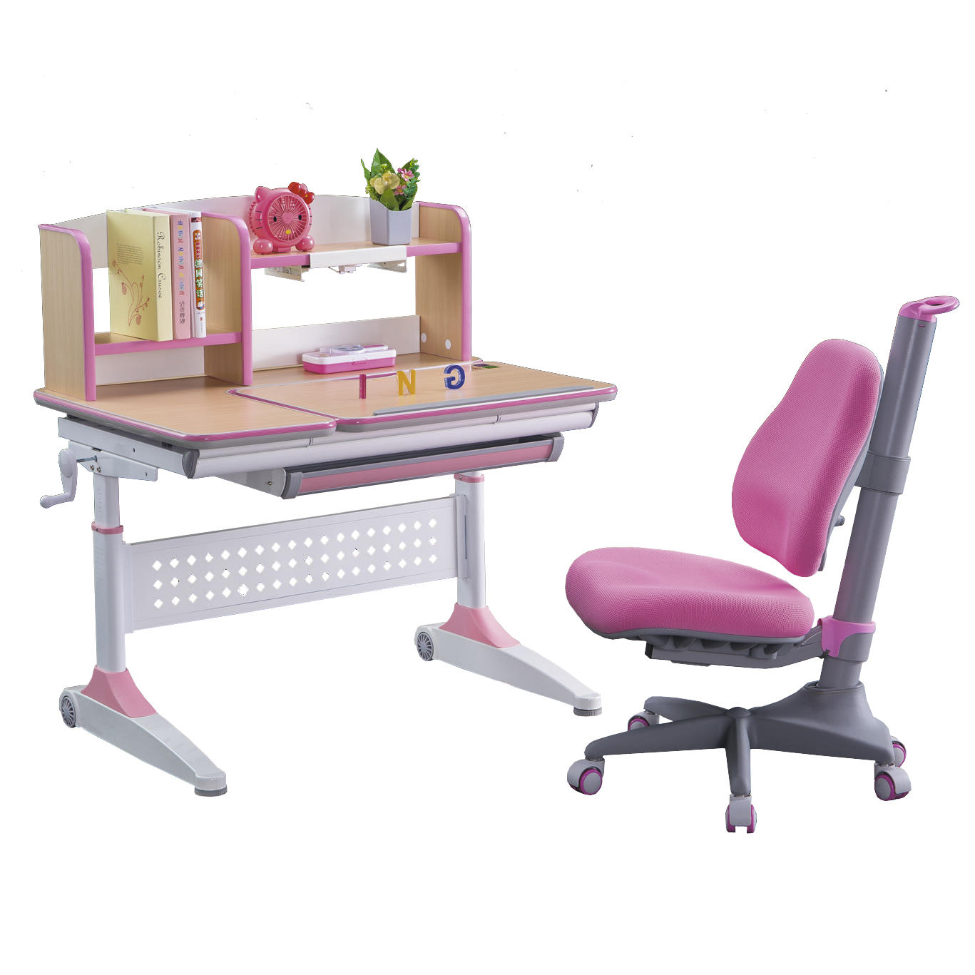 Kids study desk at home