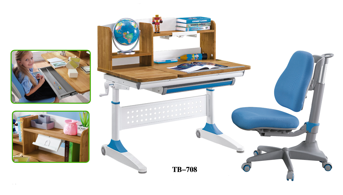 TBCZ popular study table design manufacturer for children-4