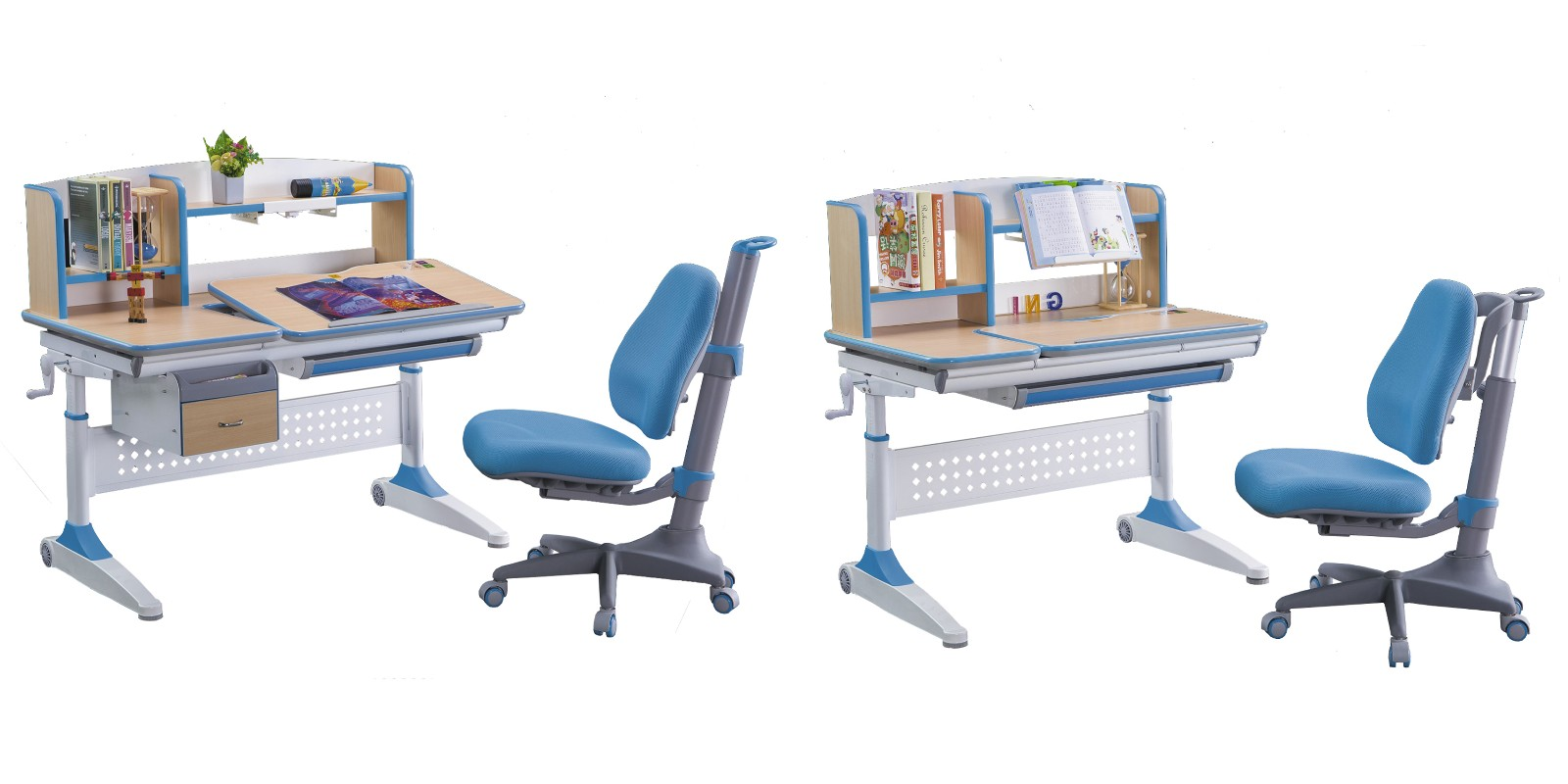 TBCZ popular study table design manufacturer for children-6