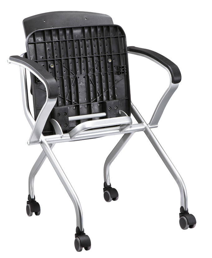 Schoold Chair Office Star Breathable Flexible Plastic Back Folding Nesting Chair
