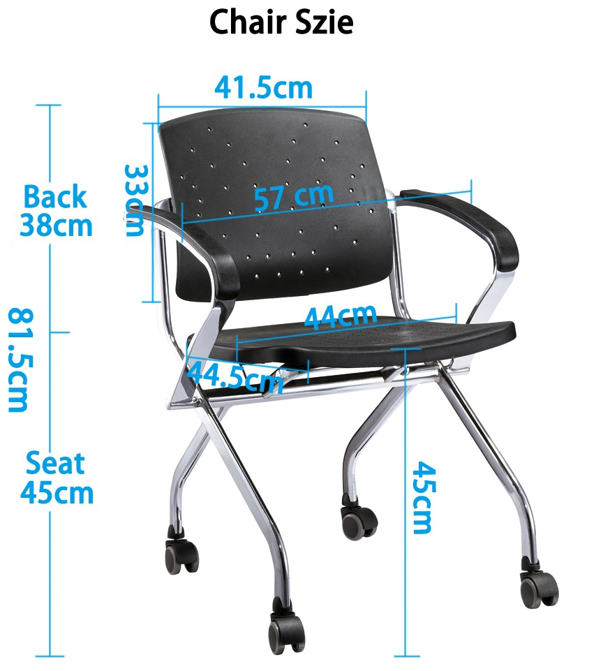 foldable plastic chair high quality for classroom-4