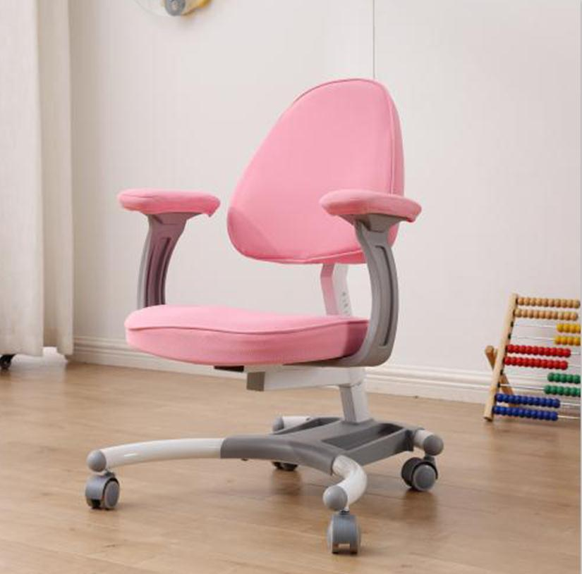 kids armest chair with adjustable height back and seat