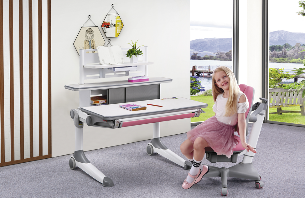TBCZ comfortable study table designs for students with storage for children-1