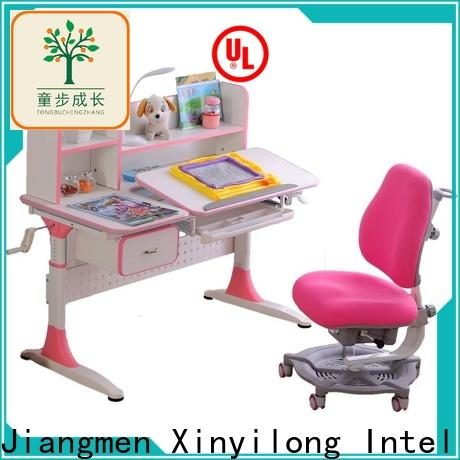 TBCZ washable compact computer desk with storage for school
