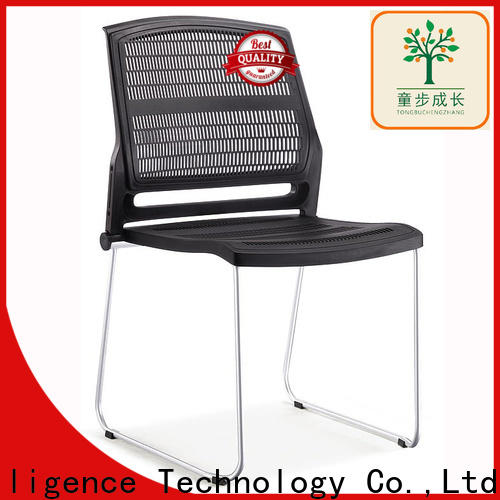 foldable nesting chair with wheel for college