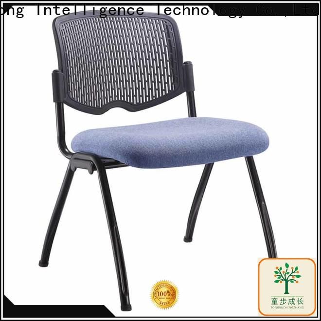 TBCZ plastic dining chairs with wheel for classroom