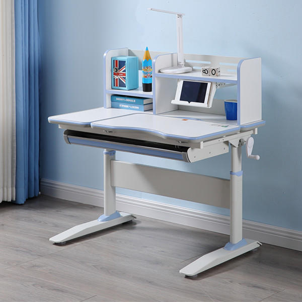 Children study table ergonomic height adjustable and functional