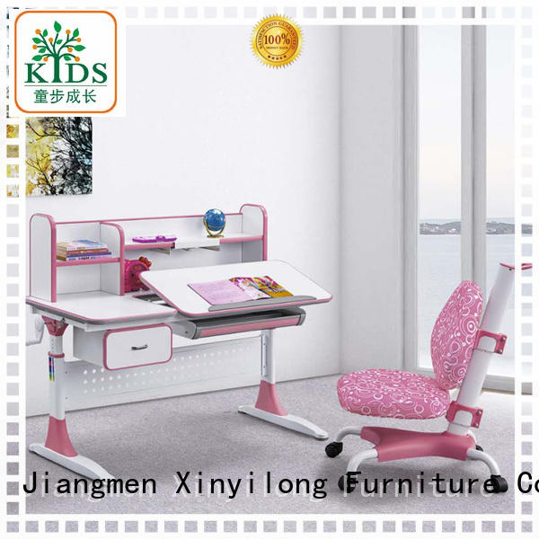 comfortable adjustable height children's desk with storage for home