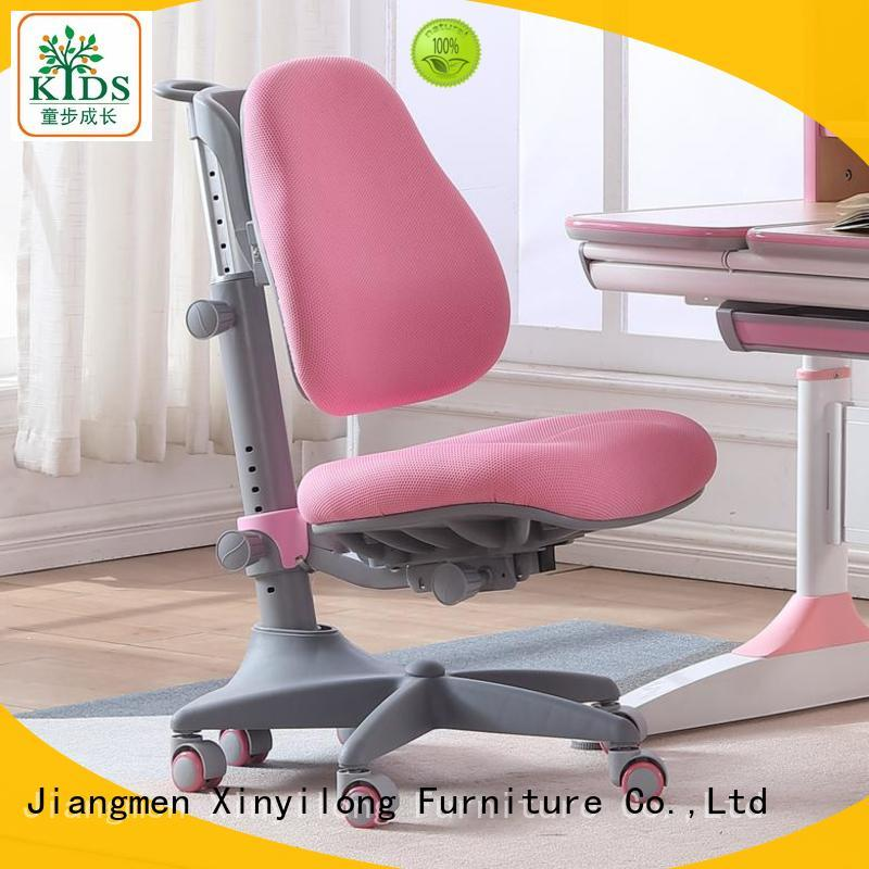 Xinyilong Furniture stable home office chair with wheel for children