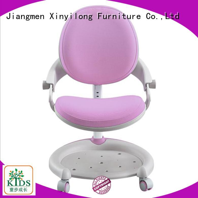 stable children table chair with wheel for children