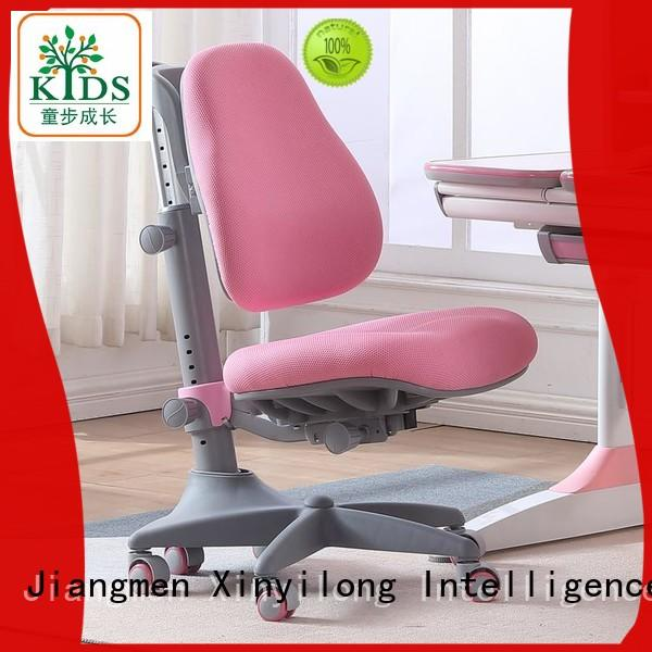 TBCZ stable kids study chair with wheel for kids