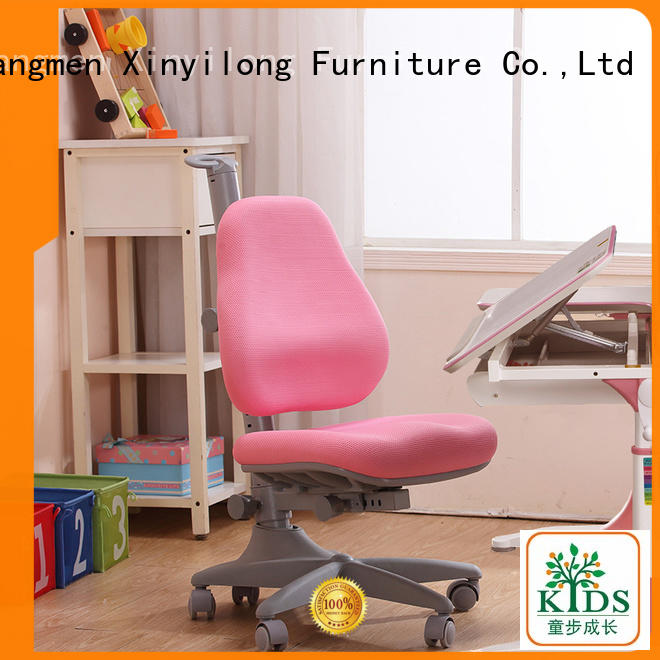 Xinyilong Furniture comfortable children desk chair high quality for kids