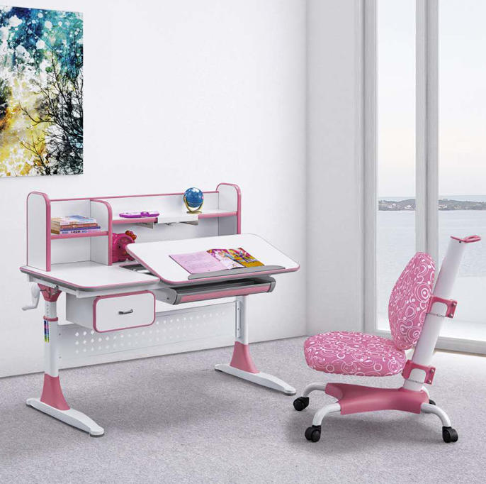 Xinyilong Furniture student desk adjustable height high quality for kids-1
