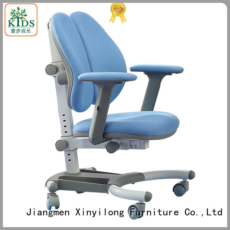 modren children study chair with wheel for studry room
