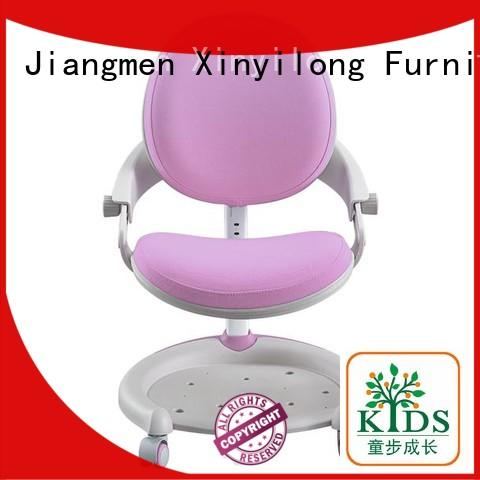 Xinyilong Furniture comfortable kids study chair with wheel for kids