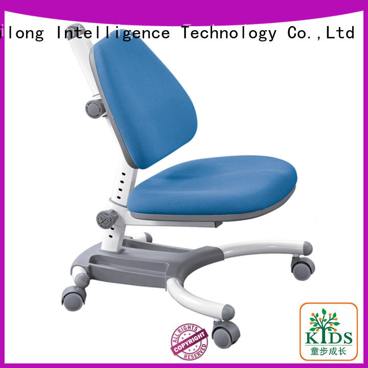 TBCZ durable height adjustable kids chairs with wheel for studry room