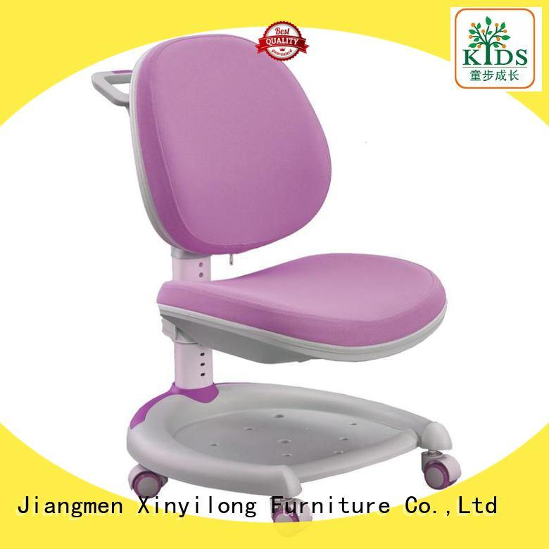 stable student chair with wheel for kids