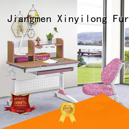 Wooden color study table for  children learning at home