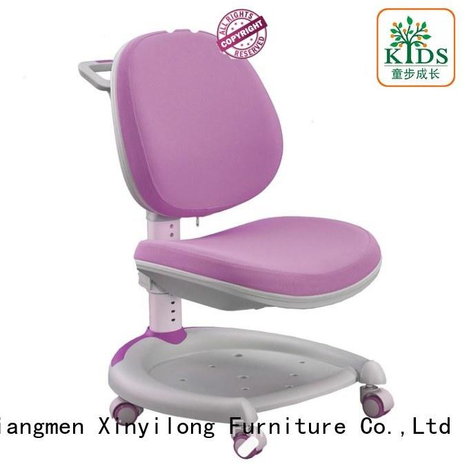 Xinyilong Furniture modren children desk chair with wheel for home