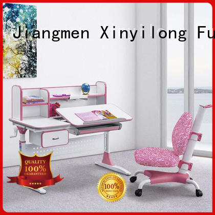Height adjustable kids study table and chair hot sale