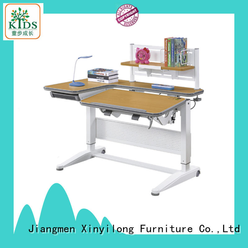 Xinyilong Furniture healthy study table for kids with storage for kids