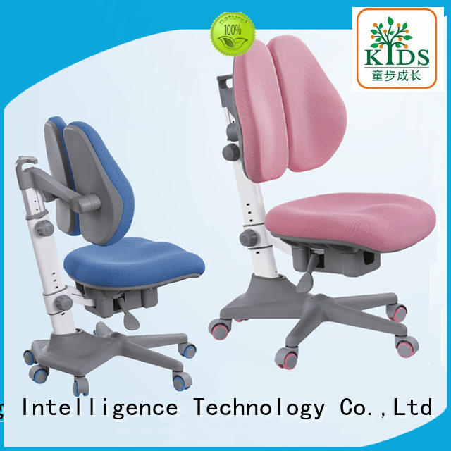 TBCZ height adjustable kids chairs with wheel for children
