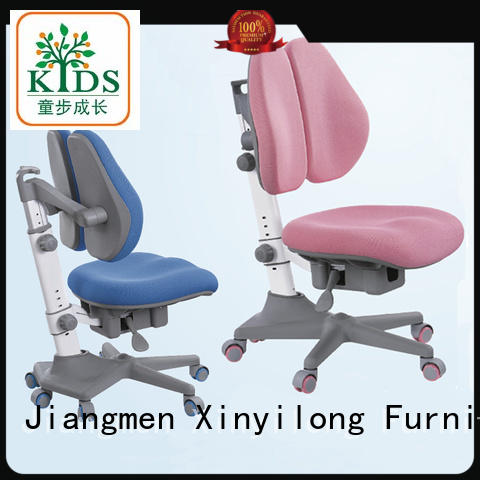 healthy student chair with wheel for children