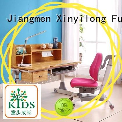 Xinyilong Furniture washable adjustable height children's desk manufacturer for school
