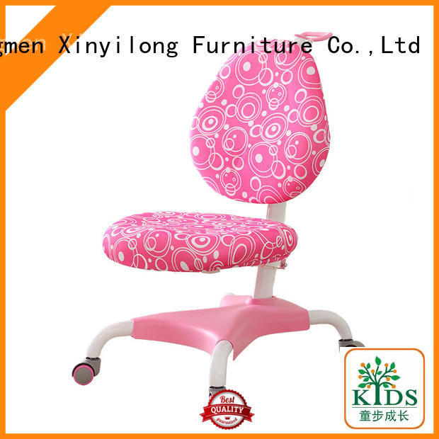 Xinyilong Furniture stable children chairs with wheel for studry room