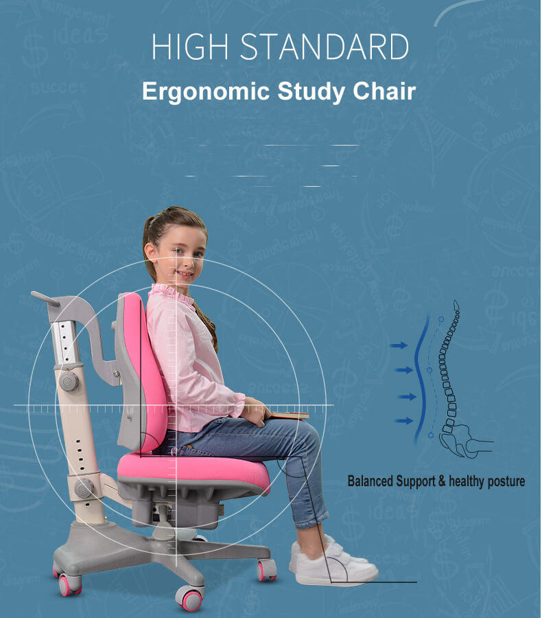 Xinyilong Furniture modren kids study chair high quality for studry room-2