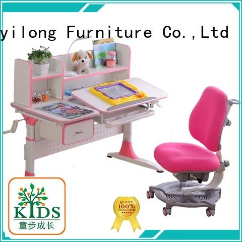 comfortable kids study table with storage for school
