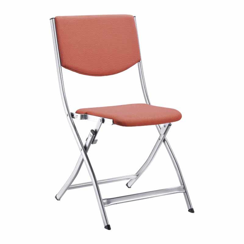 Foldable Chair Premium Curved Triple Braced & Double Hinged Metal Folding Chair