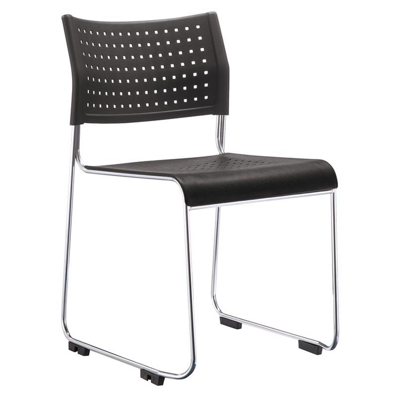 foldable dinning chair with wheel for lecture-1
