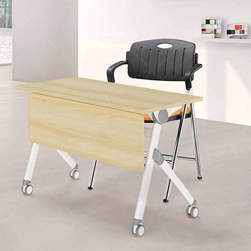 stable dinning chair with wheel for lecture-5