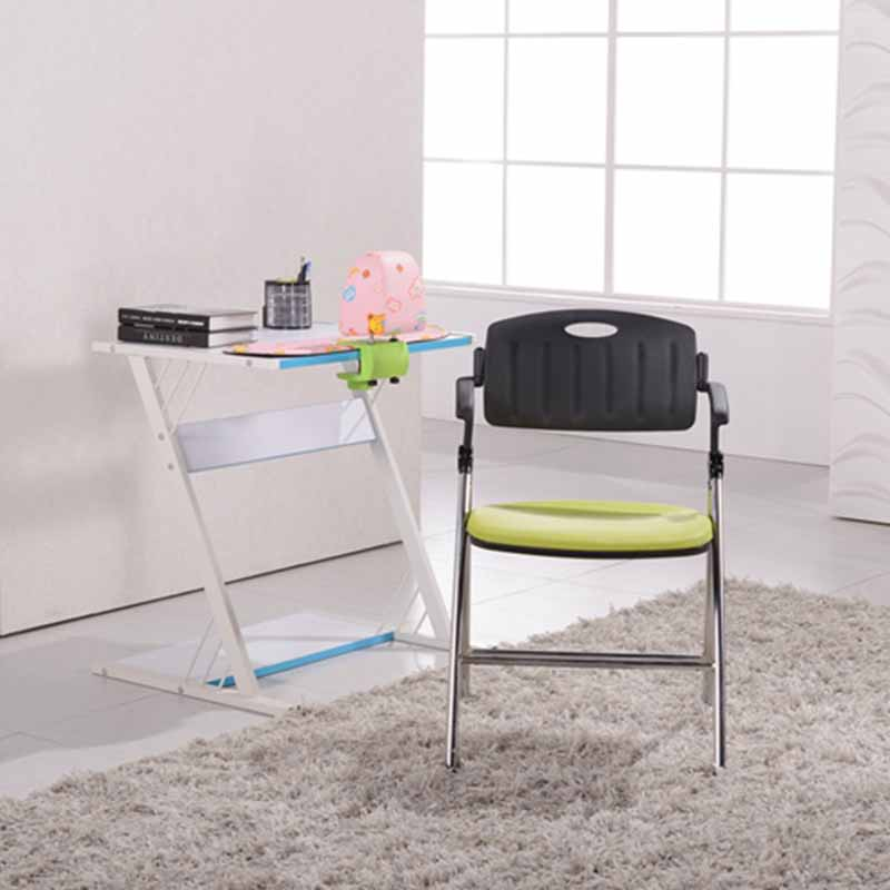 stable dinning chair with wheel for lecture-6