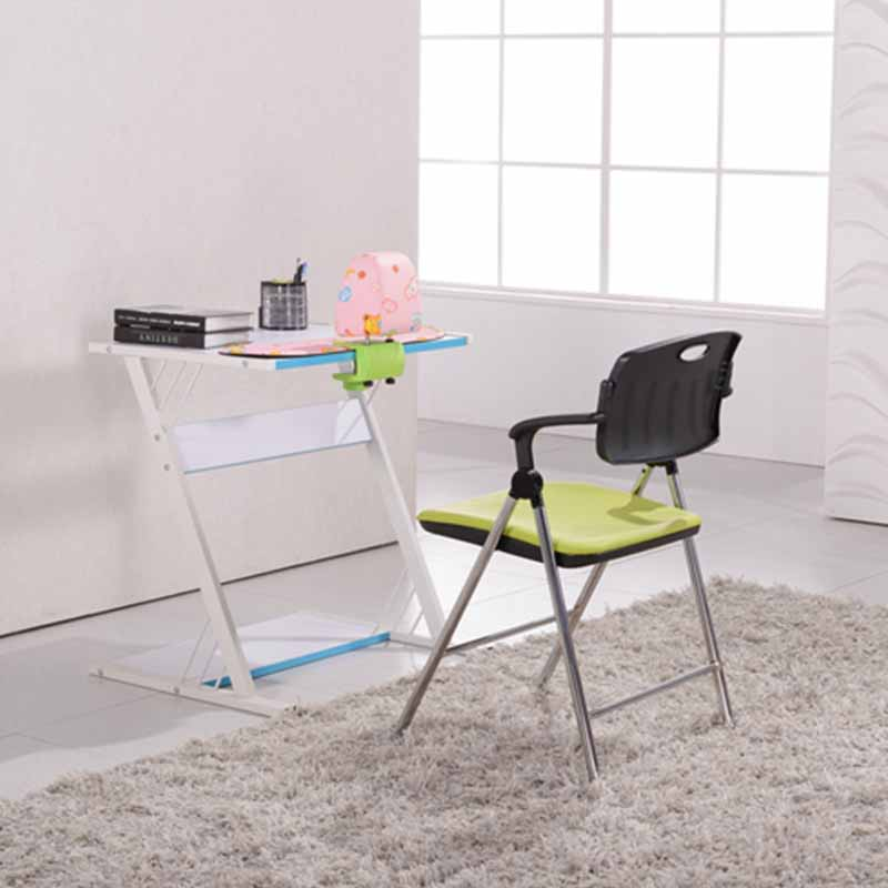 stable dinning chair with wheel for lecture-7