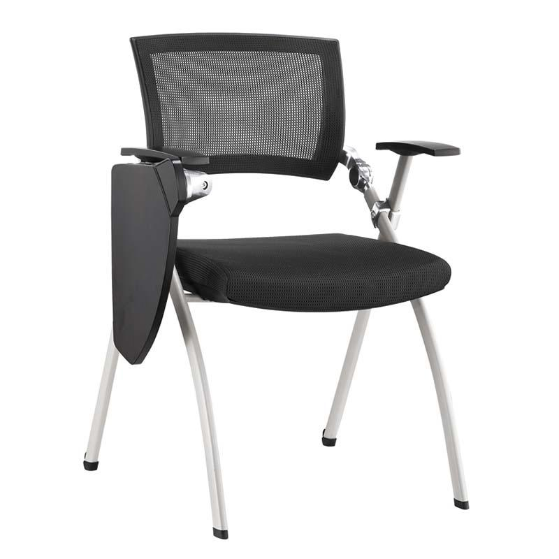 Top Office Training Room Chair with Nesting Cushion Seat suit and foldable tablet at any working setting