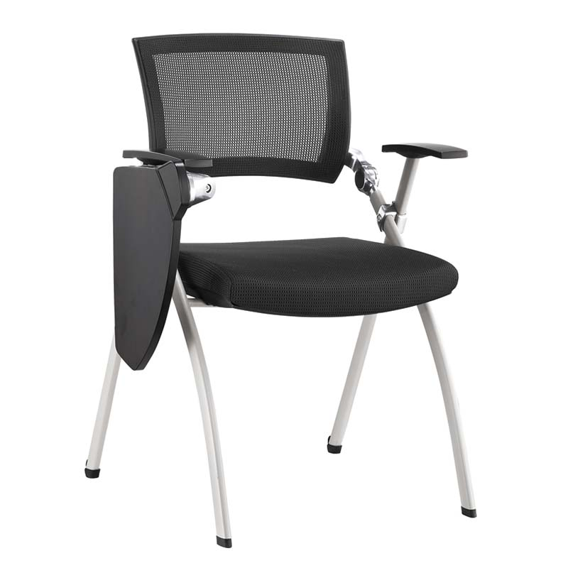 TBCZ foldable plastic dining chairs with wheel for classroom-2