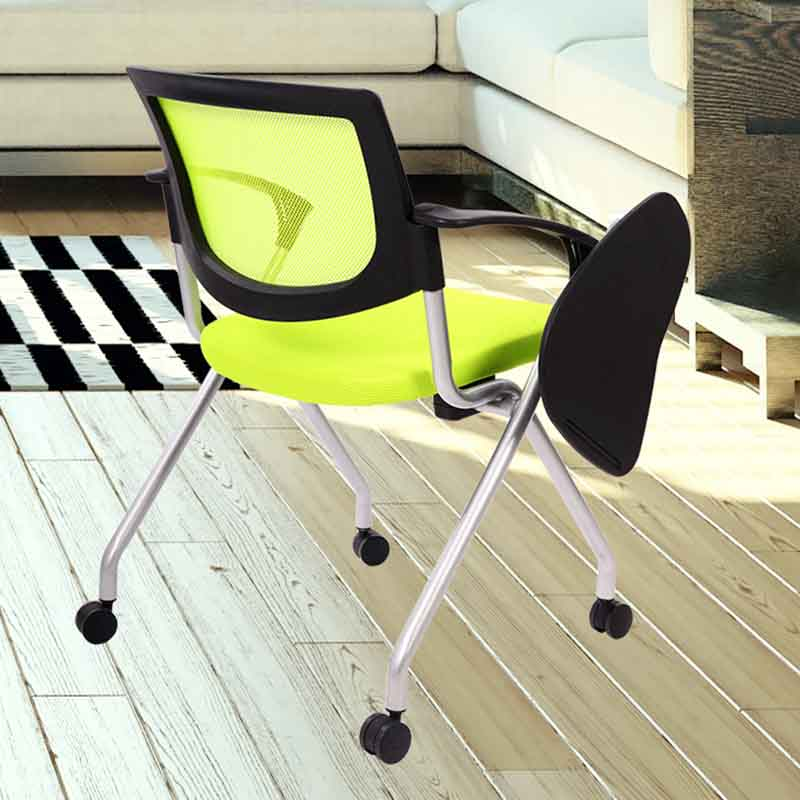 Xinyilong Furniture plastic dining chairs with wheel for students-7